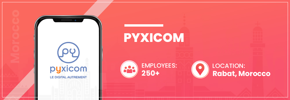 Pyxicom Best Mobile App Development firm in Morocco
