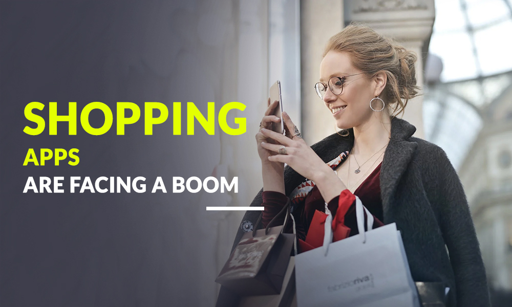 Shopping apps are facing a boom