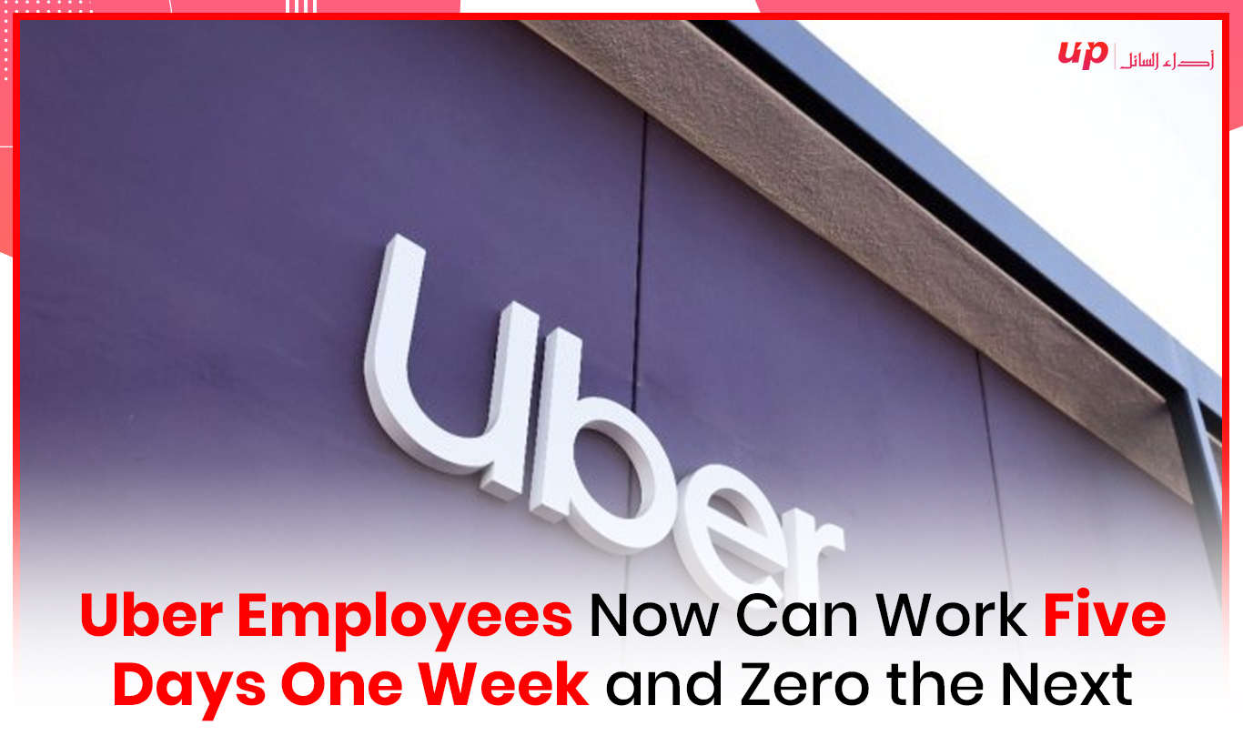 Uber Employees Now Can Work Five Days One Week and Zero the Next