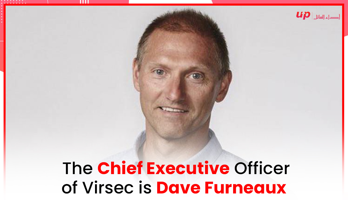 The Chief Executive Officer of Virsec is Dave Furneaux