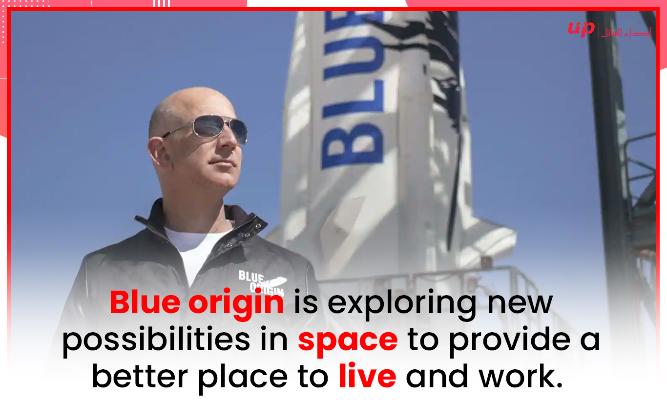 Blue origin is exploring new possibilities in space to provide a better place to live and work.