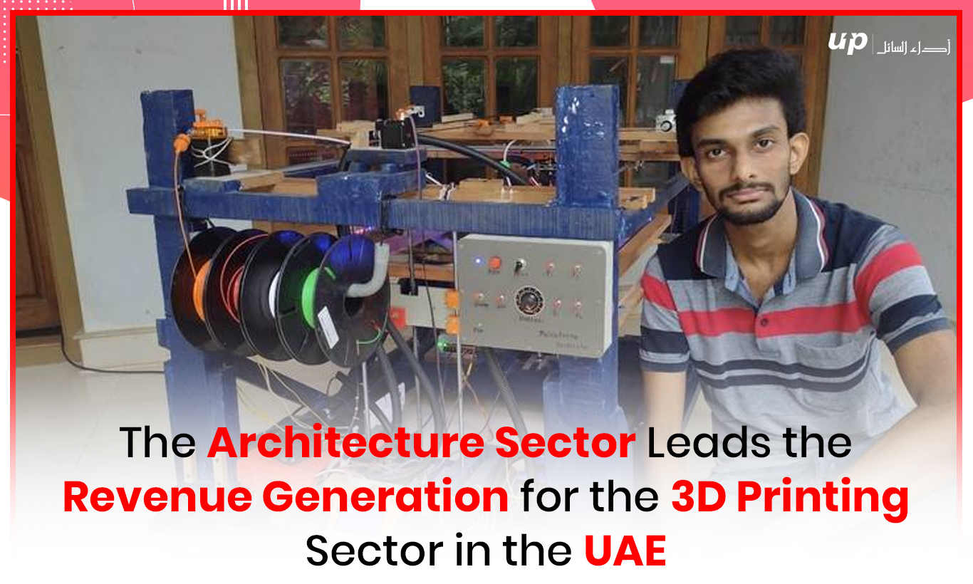 The Architecture Sector Leads the Revenue Generation for the 3D Printing Sector in the UAE