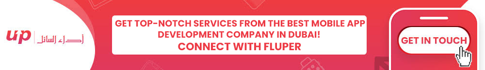 Get top-notch services from the best Mobile App Development company in Dubai! Connect with Fluper