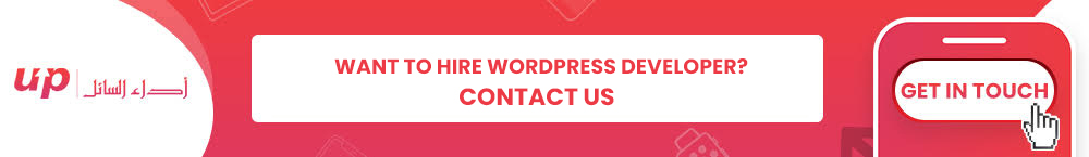 Want to Hire WordPress developer? Contact Us