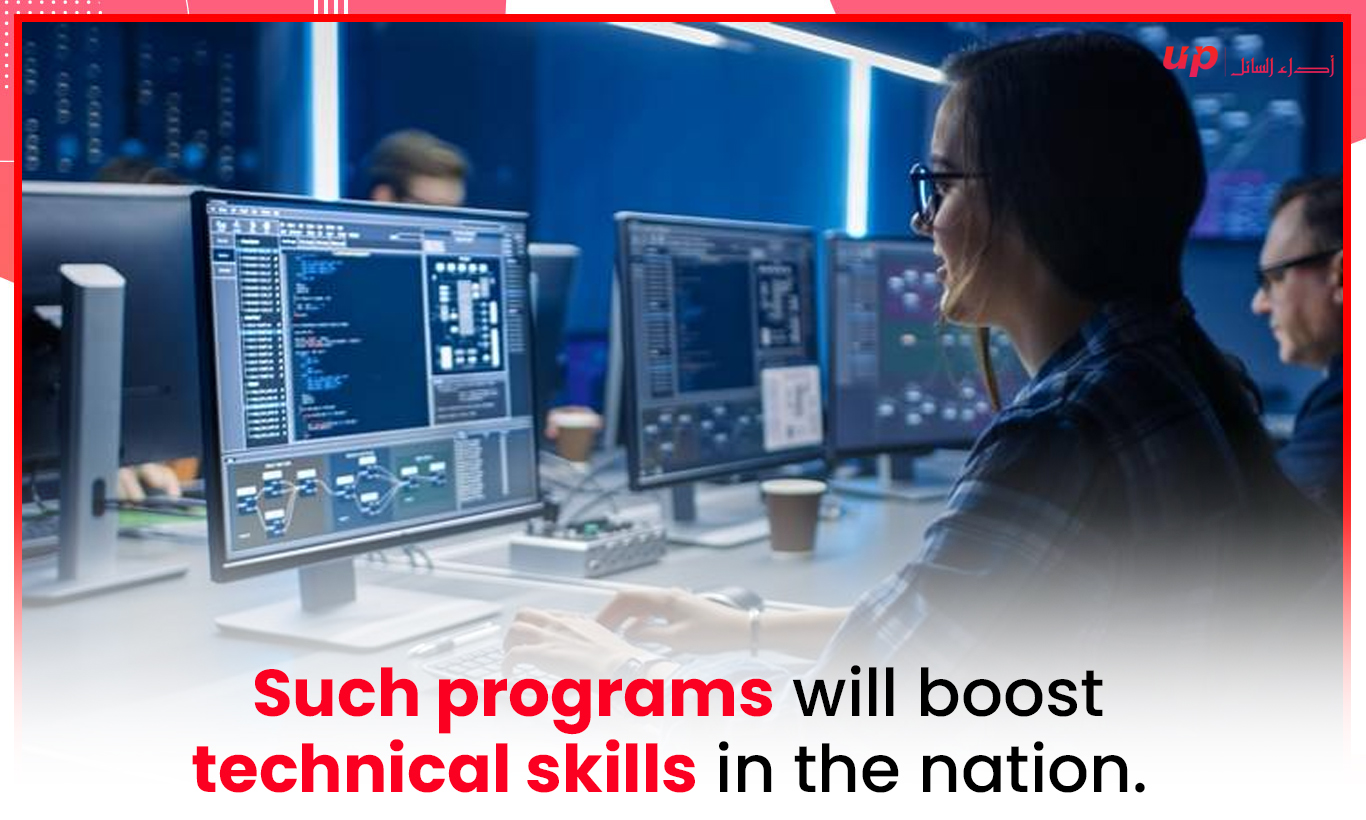 Such programs will boost technical skills in the nation.