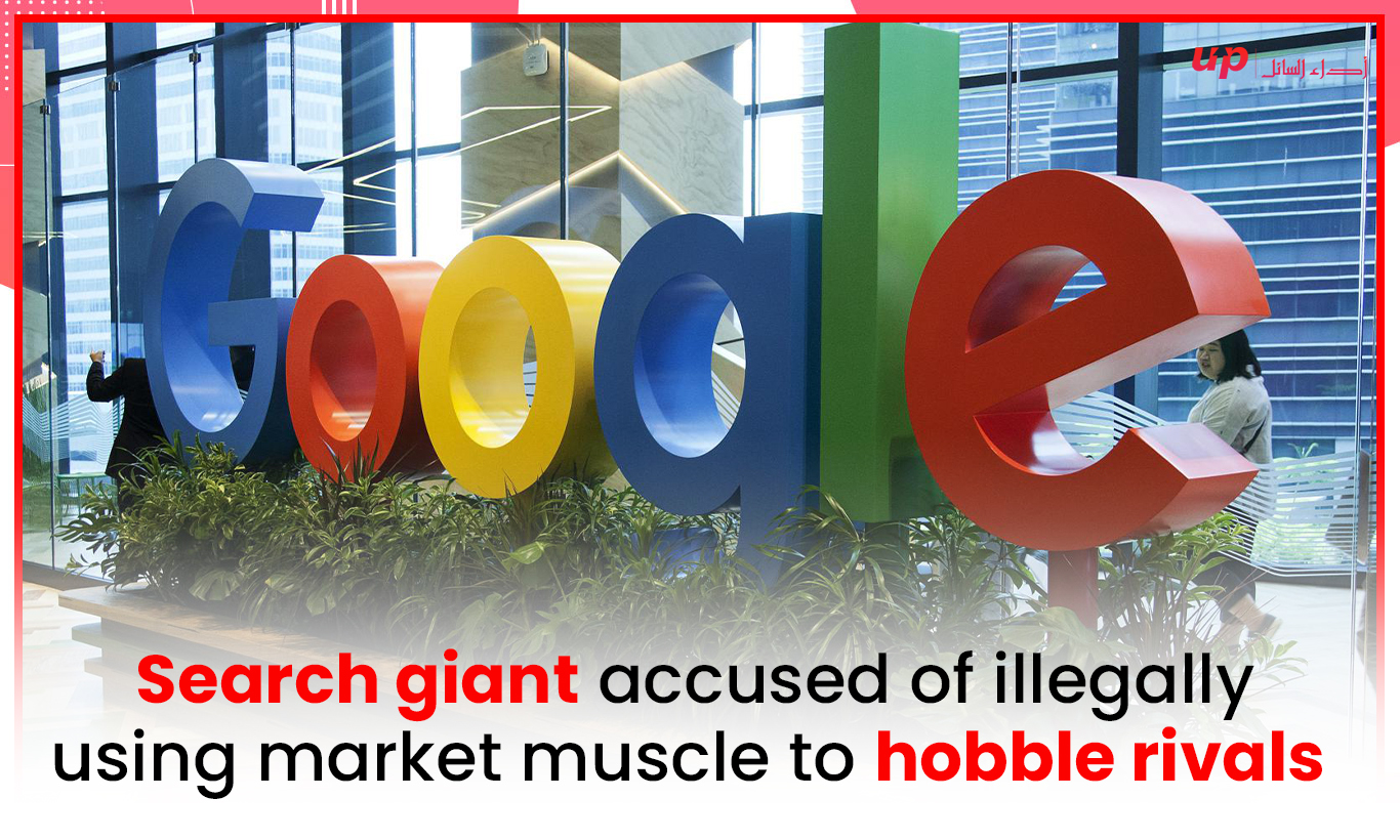 Search giant accused of illegally using market muscle to hobble rivals