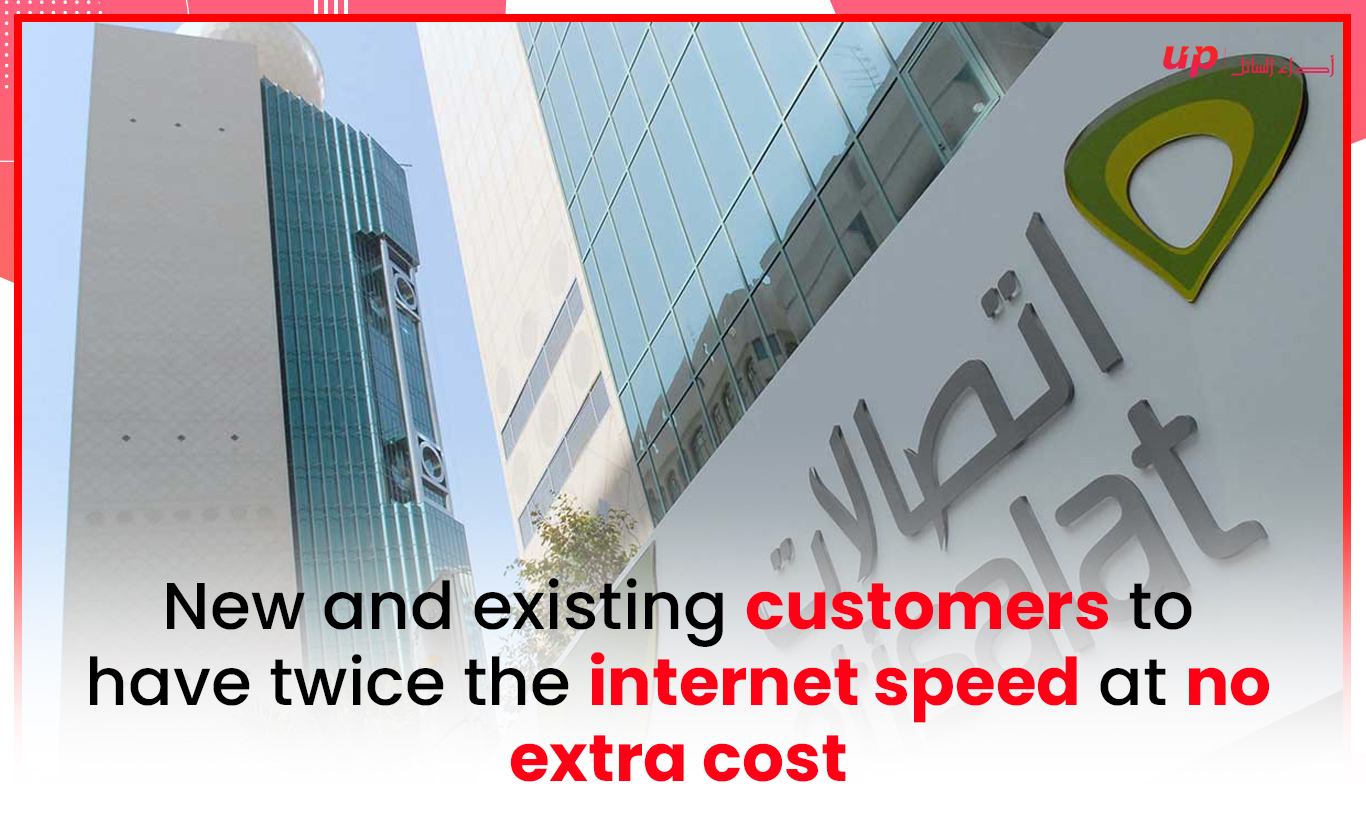 New and existing customers to have twice the internet speed at no extra cost